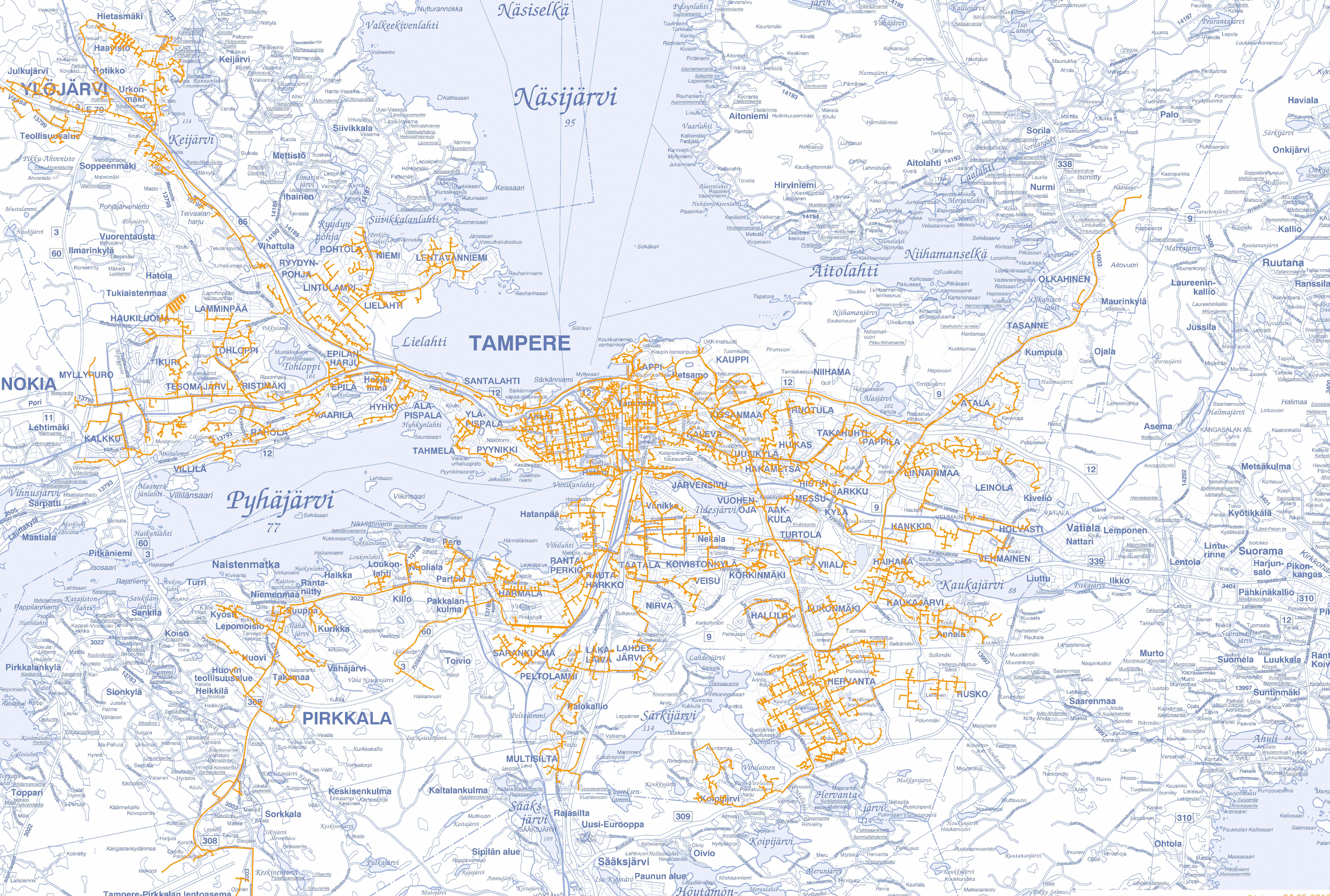 Tampereen Sahkolaitos Kaukolampoverkko Tampereen Sahkolaitos
